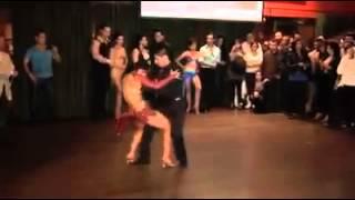 Concurso de bachata uno de las mejores parejas