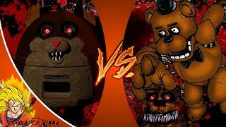 MAMA TATTLETAIL vs FREDDY FAZBEAR! (Tattletail vs FNAF) Cartoon Fight Club Episode 167 REACTION!!!