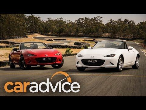 2016 Mazda MX 5 1.5L v 2.0L track comparison review