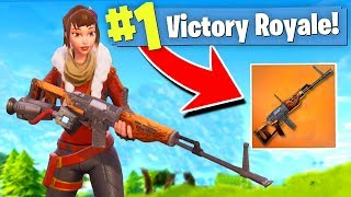 *NEW* HUNTING SNIPER RIFLE coming to FORTNITE: Battle Royale!