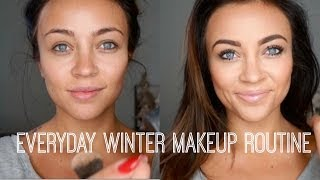 Everyday Winter Makeup Routine ♡