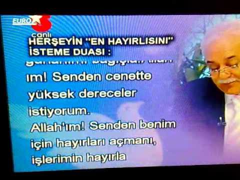 Nihat hatipoglu HERSEYIN EN HAYIRLISINI ISTEME DUASI