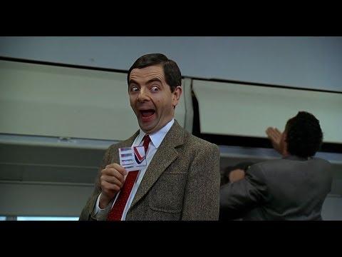 HD First Class Flight Mr. Bean