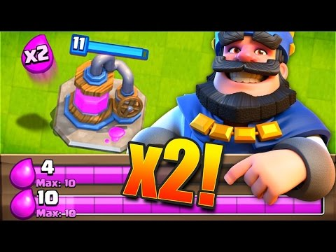 DOUBLE ELIXIR MODE! // Clash Royale New Challenge!