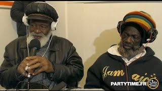 Winston Francis, AJ Franklin & The Abyssinians at Party Time Reggae Radio show   06 MARS 2016
