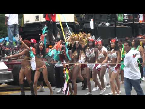 Snake!! Labour Day Parade 2012-Eastern Parkway Carnival Bacchanal Brooklyn New York.