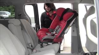 Install a Rear-facing Diono Car Seat with SuperLATCH™