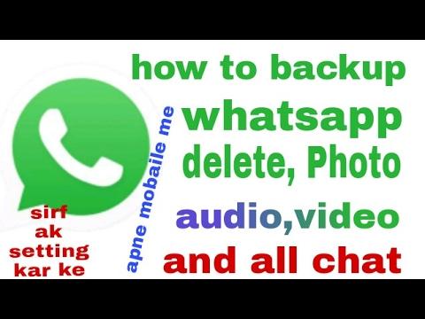 Xxx Mp4 Whatsapp Se Delete Photo Video Audio And Chatt Ko Phir Se Waps Laye Apne Mobaile Me 3gp Sex