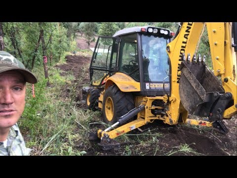 Xxx Mp4 Using Backhoe To Clear Road To Spring 3gp Sex