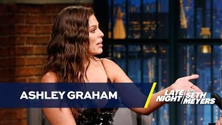 """Ashley Graham Was the """"Before"""" in Your SkyMall Magazine Before Supermodel Fame"""