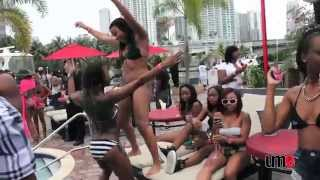 PRETTY GIRLS & BOTTLES POOL PARTY MIAMI BEACH