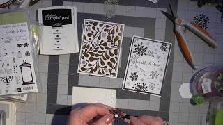 2 super quick elagant cards stampin up