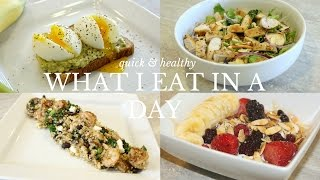 What I Eat In A Day | Quick, Easy, & Healthy Recipes for the New Year!