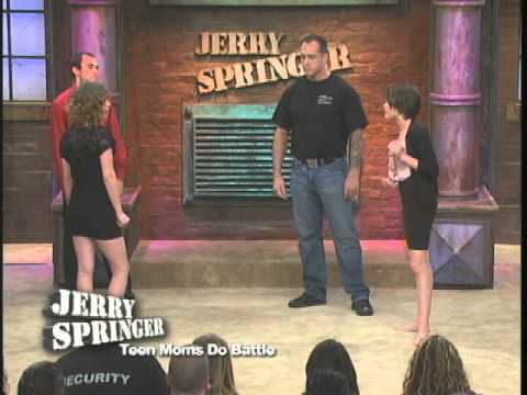 Teen Moms Do Battle The Jerry Springer Show