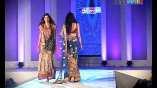 Super models looking hot and sexy in Chhabra 555 wedding collection