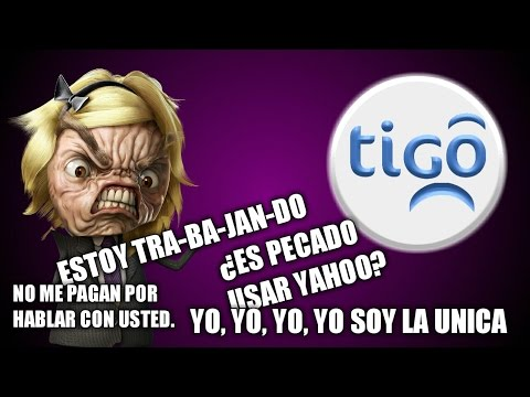¡Cliente histérica de TIGO llama casi agonizando!
