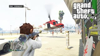 GTA 5 Online Lui Calibre's Solo Adventures #5 - Shopping and Killing Spree