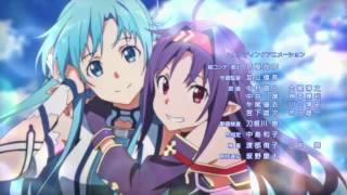 Sword Art Online II Ending 3 LiSA Shirushi