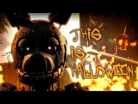 Xxx Mp4 SFM FNAF THIS IS HALLOWEEN The Nightmare Before Christmas FNaF Song Animation 3gp Sex
