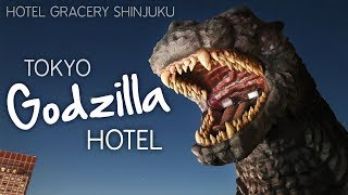 GODZILLA Hotel Gracery Shinjuku Room Tour (Tokyo, Japan)