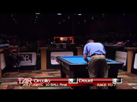 2013 US Bar Table Championships 10 BALL FINAL Dennis Orcollo vs Corey Deuel