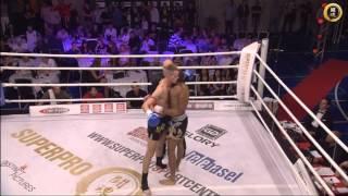 MALIK GROENBERG vs KEVIN BOST @SUPERPRO FIGHTNIGHT IV 22/09/2012