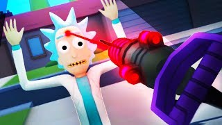 I JUST KILLED RICK SANCHEZ!?!! (Rick and Morty VR Oculus Rift)