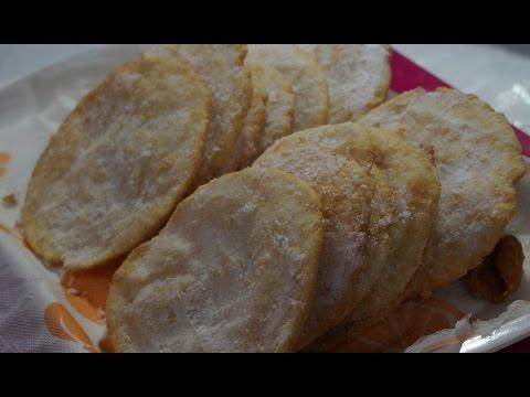 Sweet Poori (madatha peni) - Indian Andhra Telugu Recipes- by Siri@siriplaza.com