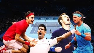Federer, Djokovic, Nadal, Murray all 94 Masters Titles