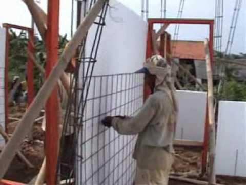 Pembangunan Rumah Dengan Styrofoam