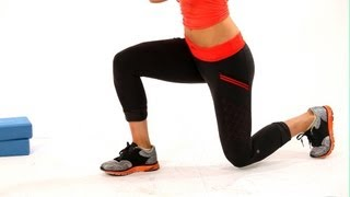 How to Do a Lunge | Thighs Workout