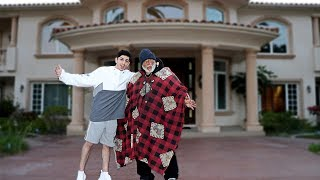 INVITING HOMELESS MAN INTO MY HOME.. **huge surprise** | Vlogs | FaZe Rug