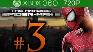 The Amazing Spider-Man 2 Walkthrough Part 3 [720p HD] - No Commentary - The Amazing Spiderman 2