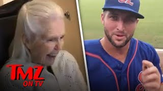 Tim Tebow Makes A Fans Day | TMZ TV