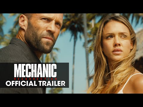Xxx Mp4 Mechanic Resurrection 2016 – Official Trailer Jason Statham Jessica Alba Tommy Lee Jones 3gp Sex