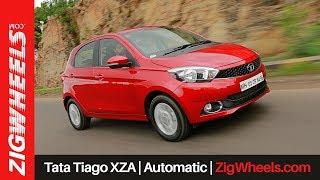 Tata Tiago XZA | Automatic | ZigWheels.com