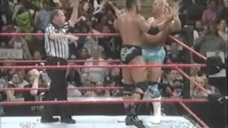 The Rock vs. Billy Gunn