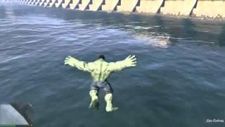 GTA 5 mods || مود الرجل الاخضر