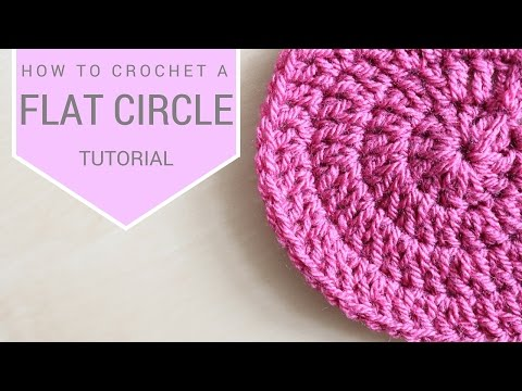 CROCHET: How to crochet a flat circle | Bella Coco