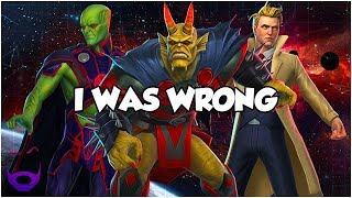 I WAS WRONG - DC Legends