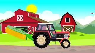 ☻ Tractor Fairy Tale for Kids | Cartoons for children | Bajki Traktor dla Dzieci - Animacje ☻