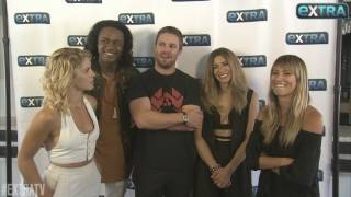 "Stephen Amell & ""Arrow"" Cast on Who Lives After That Big Cliffhanger"
