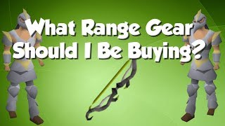 What Gear Should I Buy Next? | Ranged [OSRS]