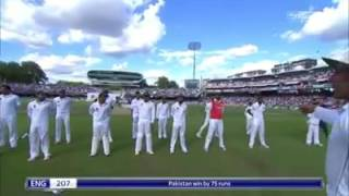 Exclusive: Pakistan Cricket Team pays tribute to army and Edhi in Lords test against England