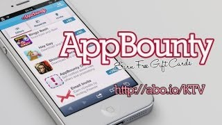 AppBounty - Free iTunes Giftcards on iOS, iPhone and iPad
