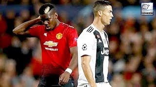 Cristiano Ronaldo VS Paul Pogba At the Manchester United VS Juventus Game
