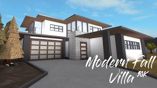 ROBLOX | Welcome to Bloxburg: Modern Fall Villa