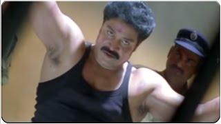 Police Beating To Srihari In Police Station Scene || Srisailam Movie || Srihari, Suhani