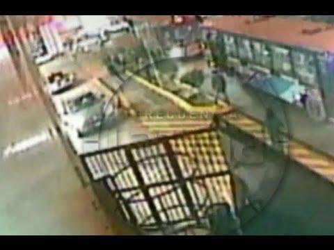 Exclusivo Cámaras de seguridad captaron asesinato de joven en grifo
