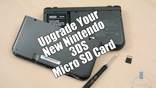How To Upgrade Your New Nintendo 3DS XL Micro SD Card